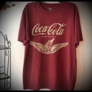 Newport Blue Coca-Cola Tee Shirt